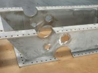 Laser jet cut components