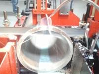 """Cutting 7050-T6511 material 11.50"""" OD"""